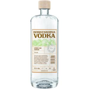 Koskenkorva Lemon Lime Yarrow Vodka 1L