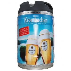 Krombacher Pils Easy Zapf Barrel 5L