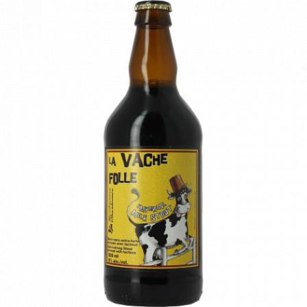 La Vache Folle Imperial Milk Stout 50cl