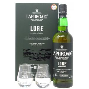 Laphroaig Lore & Glasses Gift Pack