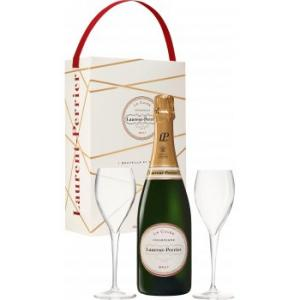 Laurent Perrier la Cuvée Twin Flute Gift Pack