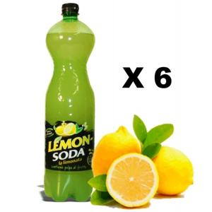 Lemonsoda P.E.T. 6 X Campari Group