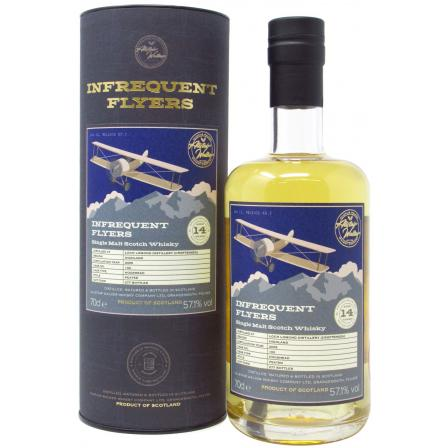 Loch Lomond Croftengea Infrequent Flyers Single Cask Batch 14 Jahre 2005