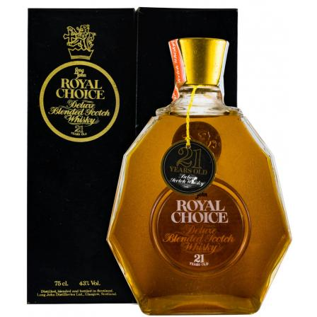Long John Royal Choice 21 År 75cl