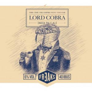 Lord Cobra -India Pale Ale- Cervezas Artesanas Freaks