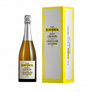 2012 Louis Roederer Brut Nature By Philippe Starck