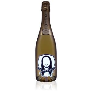 Luc Belaire Gold Face Label Steve Aoki