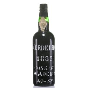 1882 Madeira Cossart Gordon Old Bottling
