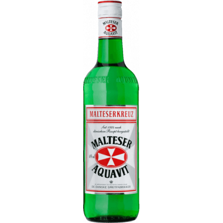 Malteserkreuz Aquavit Danish Destillers 1L
