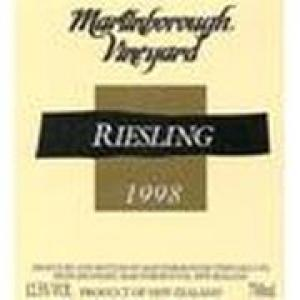 Martinborough Riesling Martinborough 1998