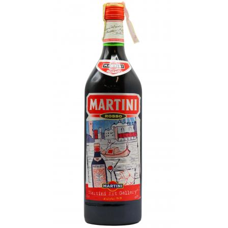 Martini Rosso Andy Warhol Label Vermouth 1958