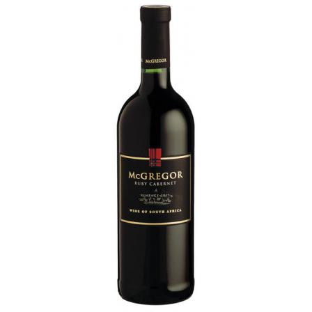 Mcgregor Winery Ruby Cabernet 1L 2018