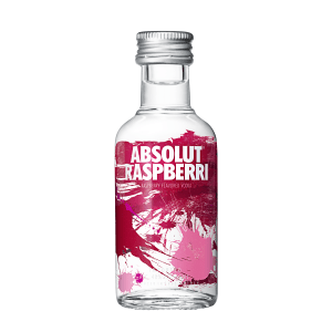 Mini Absolut Raspberri 50ml