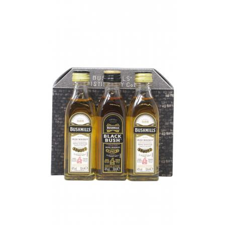 Mini Bushmills 3 X Gift Set