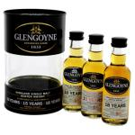Mini Glengoyne Tin Box 10 Years 15 Years 18 Years 3x50ml