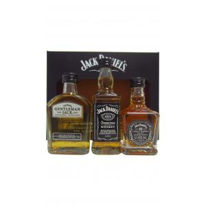 Mini Jack Daniel's 3 X The Family Pack S Gift Set