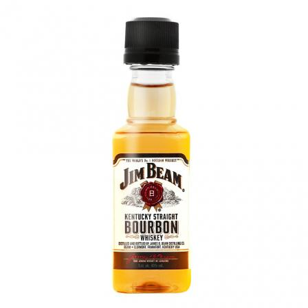 Mini Jim Beam White Label
