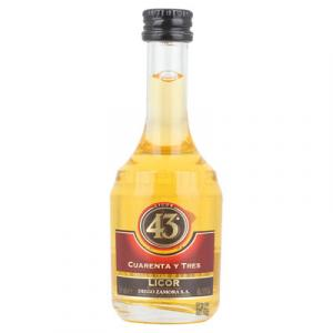 Mini Licor 43 Cuarenta y Tres