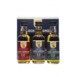 Mini Loch Lomond Gift Pack 12 Year old Whisky 50ml