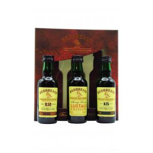 Mini Redbreast Family Collection 3 X Whiskey 50ml