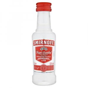 Mini Smirnoff Red Label Vodka 50ml