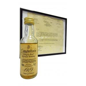Mini Springbank 50 Year old 1919