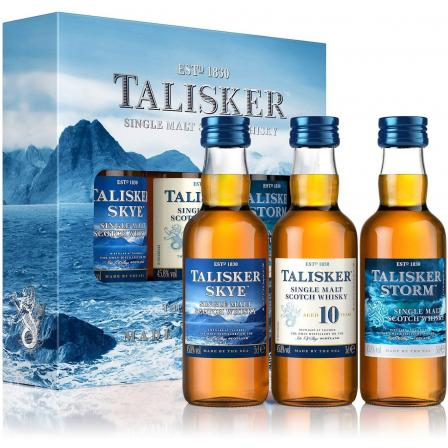Mini Talisker Made By The Sea 3 X Gift Set