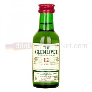 Mini The Glenlivet 12 Years 50ml
