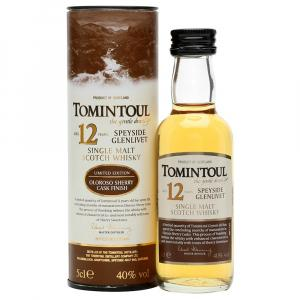 Mini Tomintoul 12 Year old Whisky 50ml
