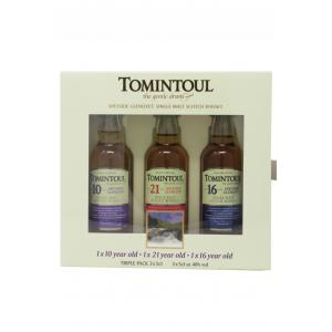 Mini Tomintoul 3 X S Gift Pack