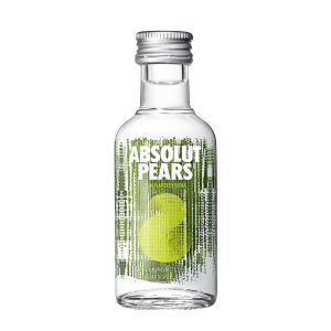 Mini Vodka Absolut Pears 50ml
