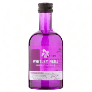 Mini Whitley Neill Rhubarb & Ginger Gin
