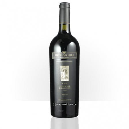 Mission Hill Merlot Select Lot Collection Okanagan Valley 2010