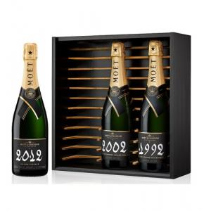 Moët & Chandon Grand Vintage Collection 1992 2002 2012