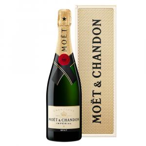 Moet & Chandon Imperial Brut 75cl Personality Metal Gift Case