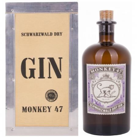 Monkey 47 In Wooden Case 50cl