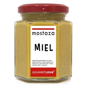 Mostaza con Curry y Miel 160ml