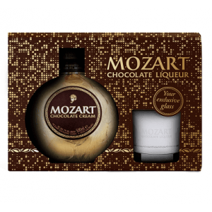 Mozart Chocolate Cream Glas Pack 50cl