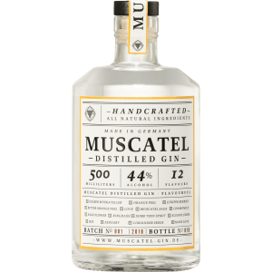 Muscatel Gin 44º a Witch a Dragon & Me 50cl