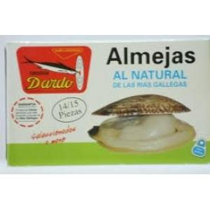 Natural Clams Galician Rias Ol-120, 14/15u