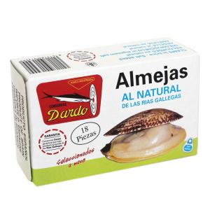 Natural Clams Galician Rias Ol-120, 18u
