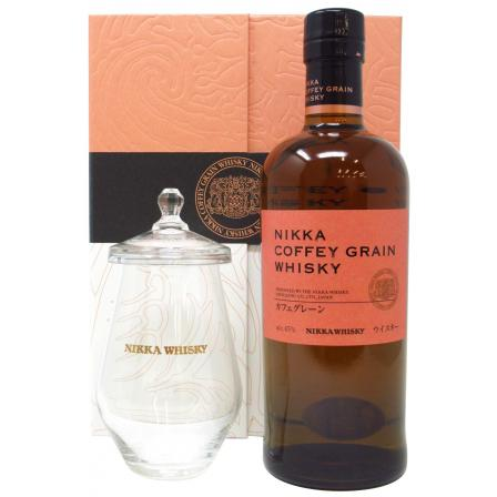 Nikka Coffey Grain Tasting Glas With Lid Gift Set