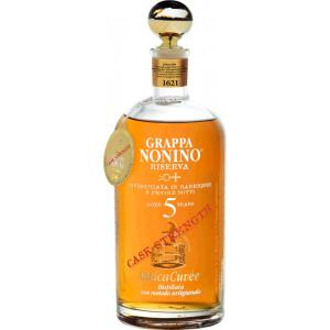 Nonino Grappa Anticacuvée Riserva Cask Strength 5 Years Old Im Barrique Gereift