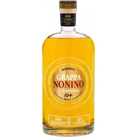 Nonino Grappa Nonino Vendemmia Riserva 18 Monate Im Barrique Gereift 50cl 2015