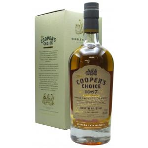 North British Cooper's Choice Single Cask 32 Year old 1987