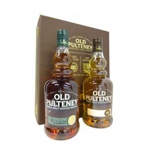 Old Pulteney 21 Year old & Vintage Twin Pack 21 Years 1989