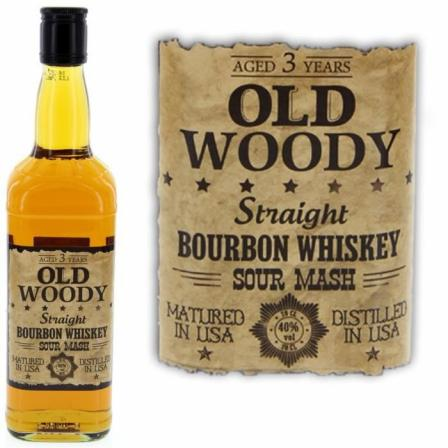 Old Woody Straight 3 Years