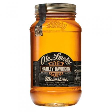 Ole Smoky Harley-Davidson Charred Moonshine 50cl
