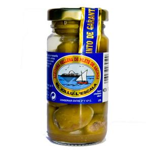 Olives Filled With Anchovy Fillet 90g Anxoves