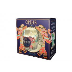 Oriental Spiced London Dry Gin Pack con Bicchiere Opihr